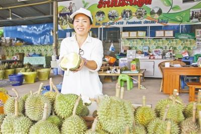 前4月泰国向中国出口榴莲总值达4.18亿美元 成榴